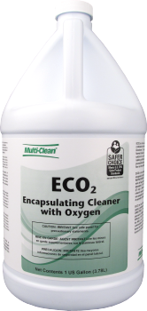 ECO2 ENCAPSULATING CLEANER WITH OXYGEN 1 GAL